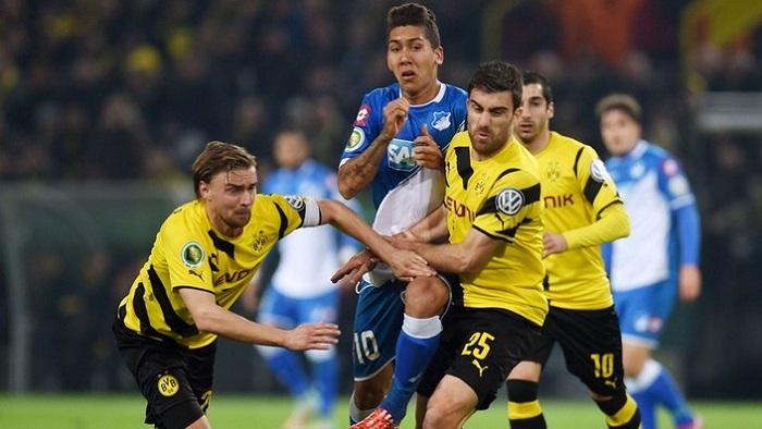 Точный прогноз на матч Хоффенхайм - Боруссия Дортмунд