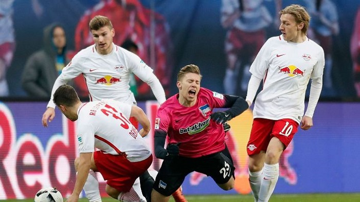 Прогноз на матч Герта - РБ Лейпциг