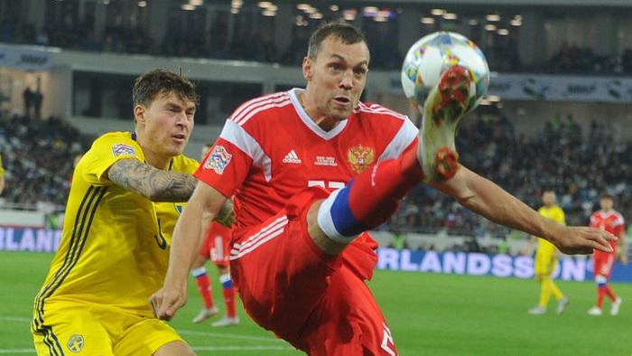 Прогноз на матч Швеция - Россия