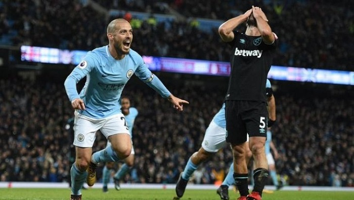Прогноз на матч Манчестер Сити - Вест Хэм